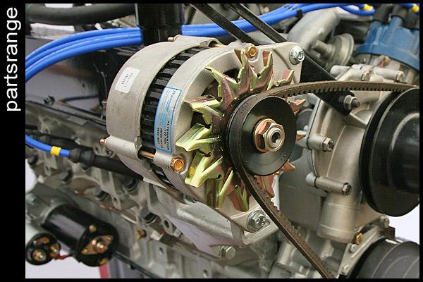rover v8 engine alternator range rover classic mg tvr sd1 60 amp 12 volt ebay