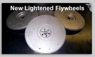 new lightened flywheeels