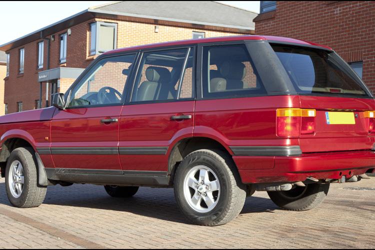 Range Rover P38 Rioja Red